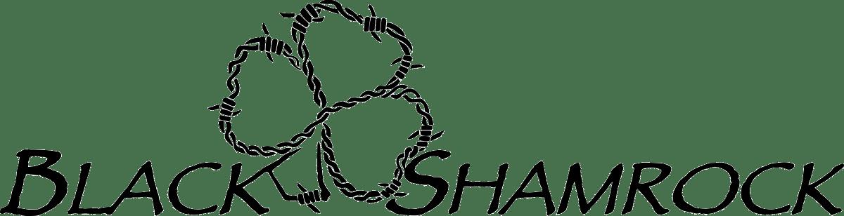 BlackShamrock_LogoTitle_Black_Transparent_2000.png