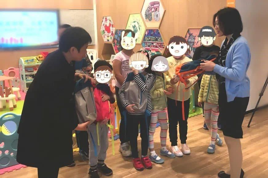 VIRTUOS CHINA DONATED GIFT PACKS TO CHILDREN IN LOCAL COMMUNITIES