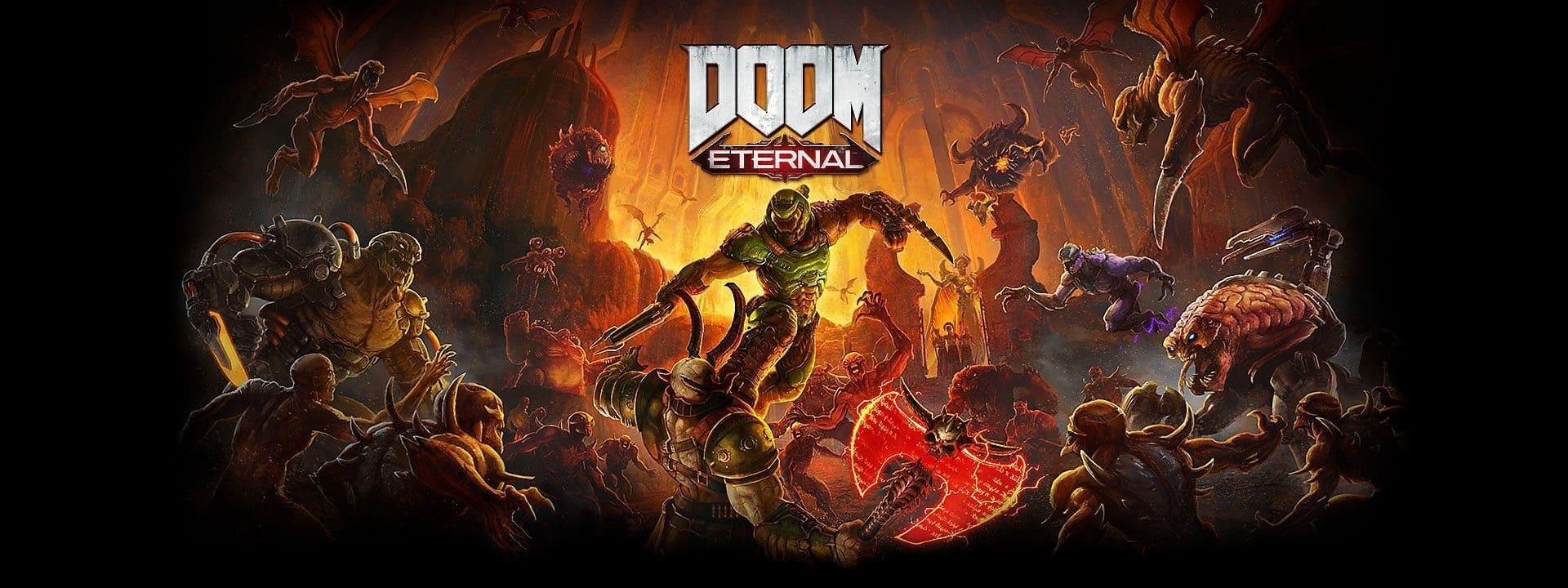 Doom Eternal: Virtuos의 아트작업과 함께 성공적 출시