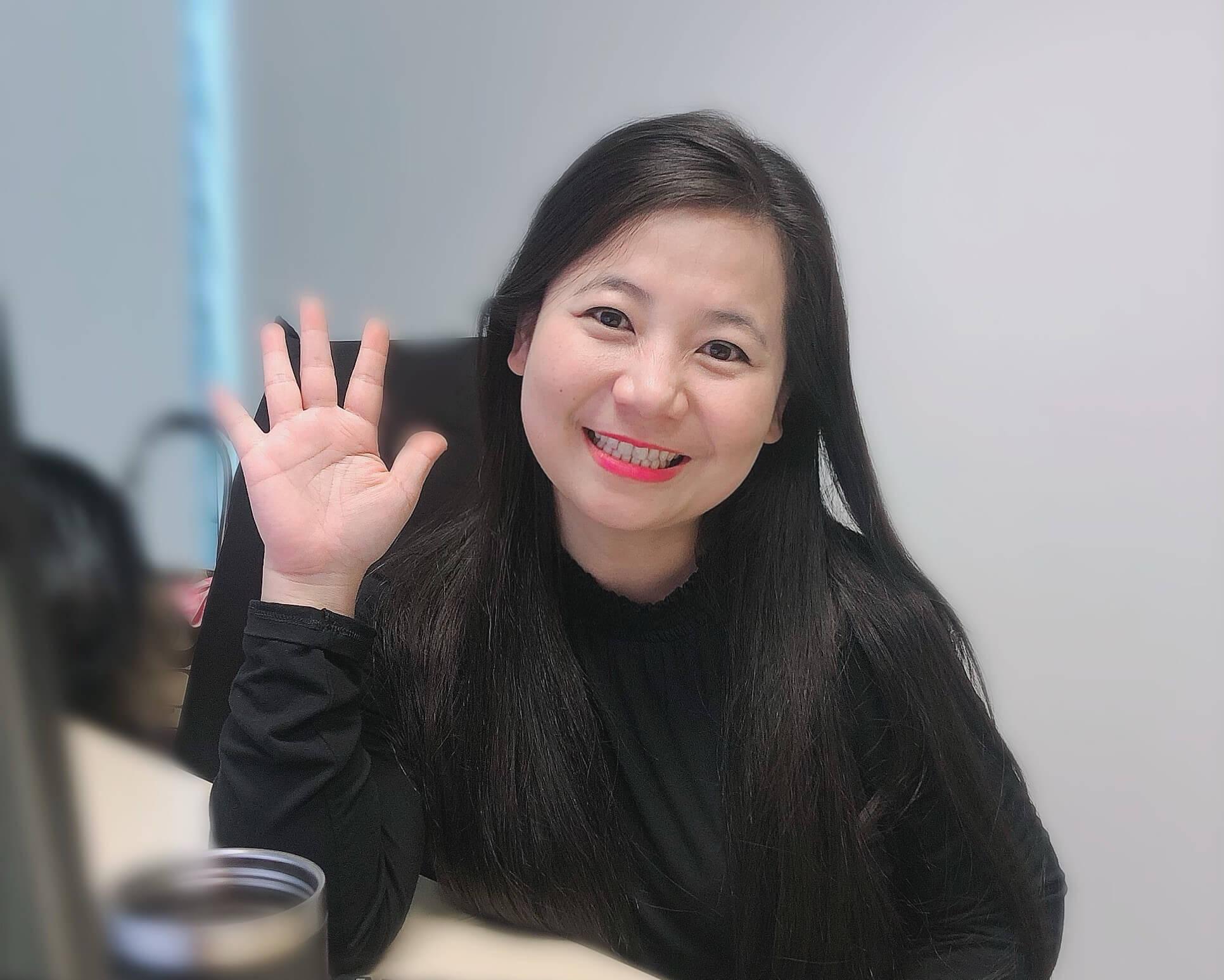 Jasmine Cheong International Women's Day